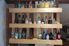 Schönes Bar-Regal aus Palettenholz
