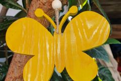 Holzbastelei-Schmetterling