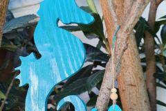Holzbastelei-Seepferdchen